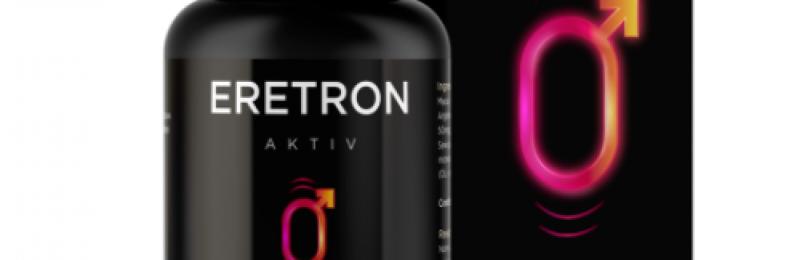 Eretron Aktiv allunga il pene, sconfiggendo l'impotenza. Come funziona e dove comprarlo: Amazon o in farmacia.